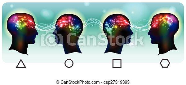 Ondas mentales - csp27319393