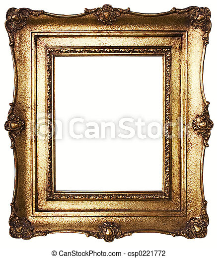 Oro de cuadros - csp0221772