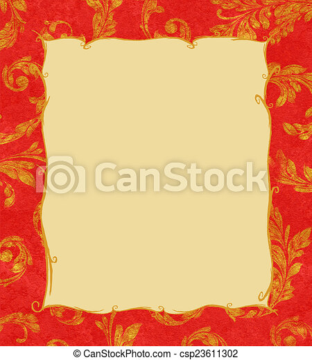 Laurel dorado deja textura de fondo - csp23611302