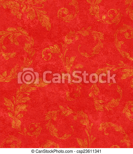 Laurel dorado deja textura de fondo - csp23611341