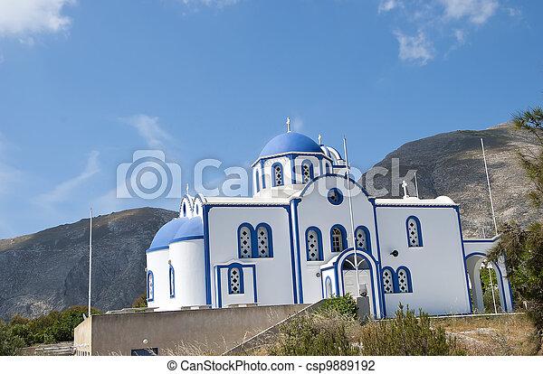 Iglesia ortodoxa griega - csp9889192