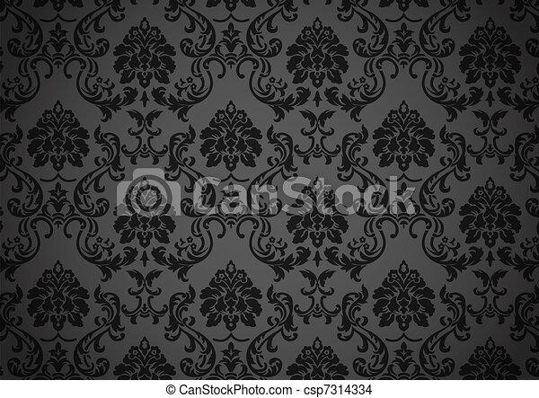 Papel tapiz oscuro - csp7314334