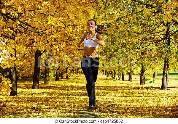 En forma de otoño - csp4725852