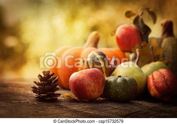 Fruta de otoño - csp15732579