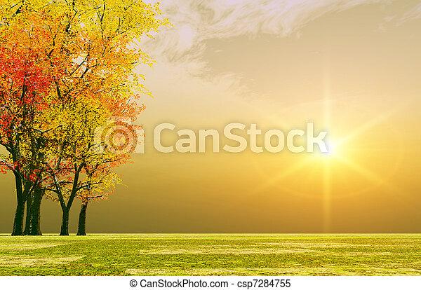 Otoño del otoño - csp7284755