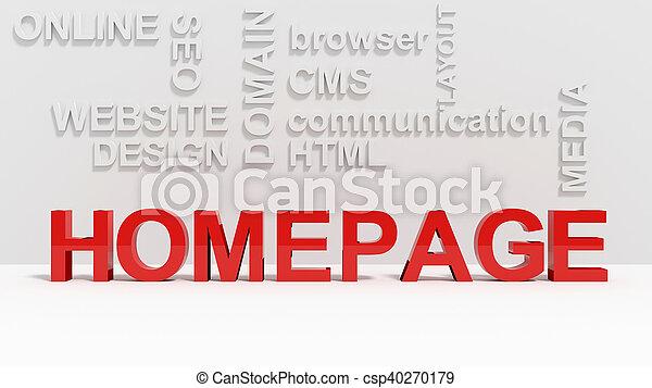 Homepage - csp40270179
