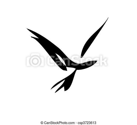 Pájaro suave - csp3723613