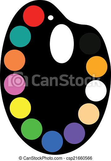 Palette - csp21660566