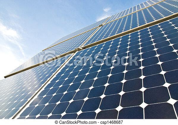Paneles solares - csp1468687