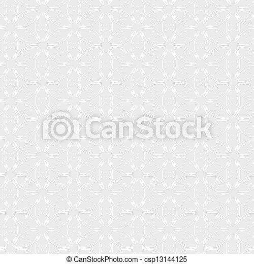 Papel blanco texturizado - csp13144125