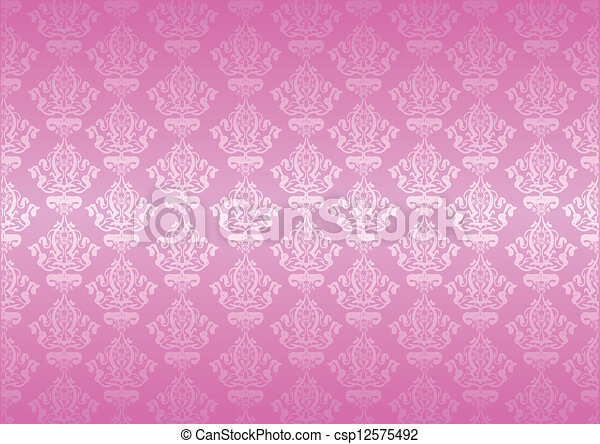 Papel rosa Vector - csp12575492