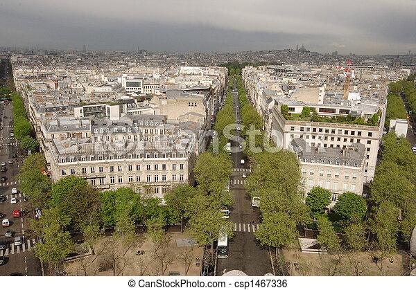 Calles de París - csp1467336
