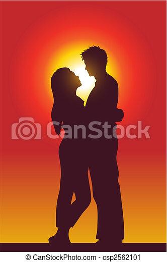 Una pareja encantadora - csp2562101