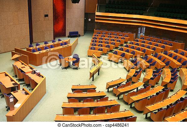 El Parlamento holandés - csp4486241