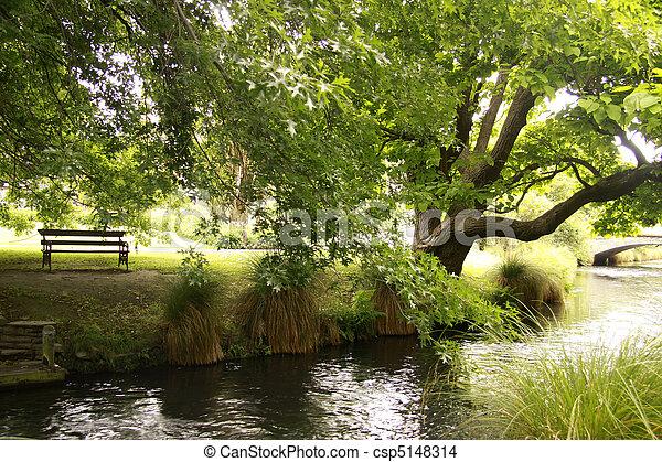 Al lado del río - csp5148314