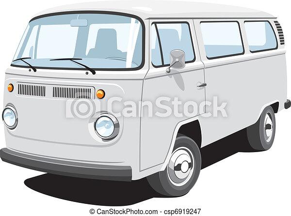 Pasajero y camioneta de carga - csp6919247