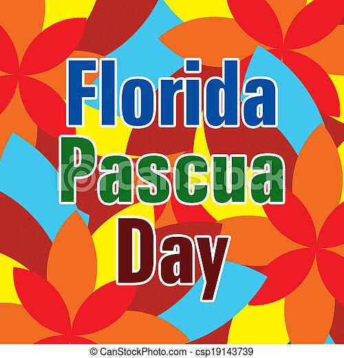 El día de Florida - csp19143739