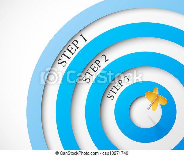 Pasos al objetivo - csp10271740