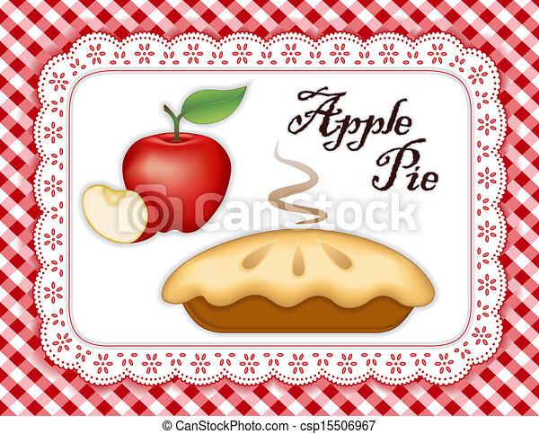 Pastel de manzana - csp15506967