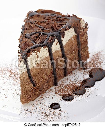 Crema de chocolate dulce comida - csp5742547