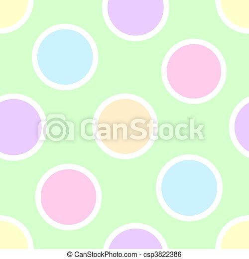 Pastel lunares - csp3822386