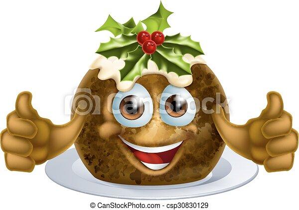 Hombre pastel de Navidad - csp30830129