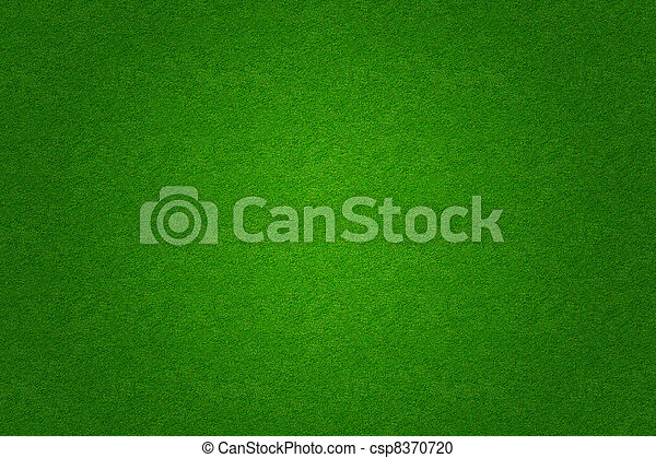 Fútbol de hierba verde o fondo de campo de golf - csp8370720