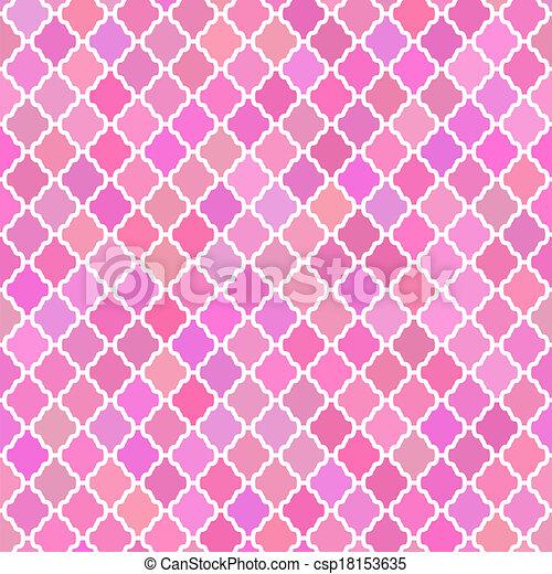 Patrón abstracto en colores rosados - csp18153635
