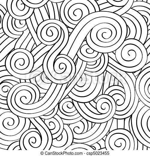 Patrón de espiral sin sentido - csp5023455
