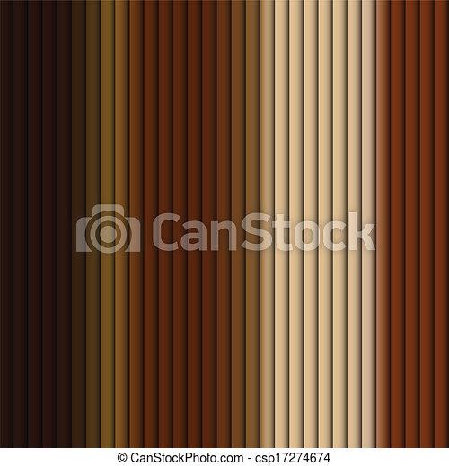 Patrón de fondo sin marcas de rayas marrones - csp17274674