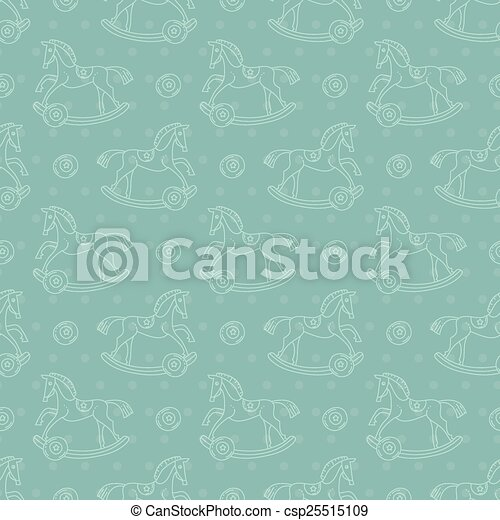 Patrón de mecedora infantil - csp25515109