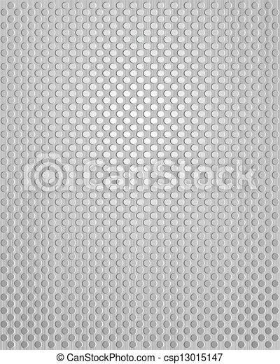 Patrón de metal gris - csp13015147