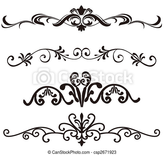 Patrón de flores - csp2671923