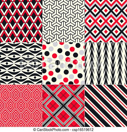 Patrón abstracto y abstracto - csp16519612