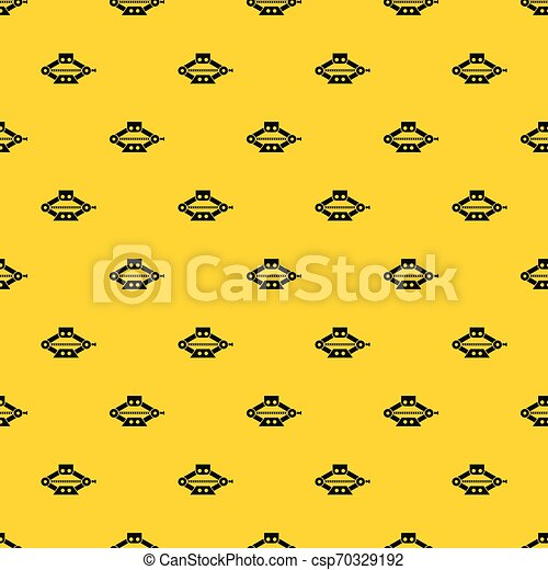 Vector de patrones del patrón de patrones de las tijeras rojas - csp70329192
