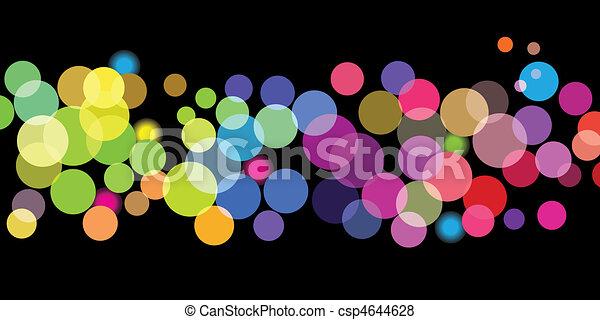 Patrones de colores brillantes - csp4644628