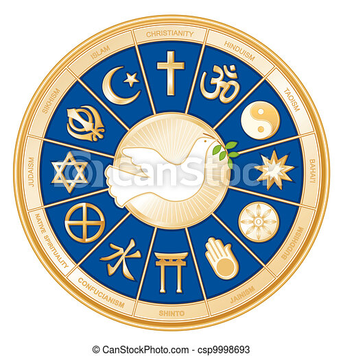 Reliquias del mundo, paloma de la paz - csp9998693