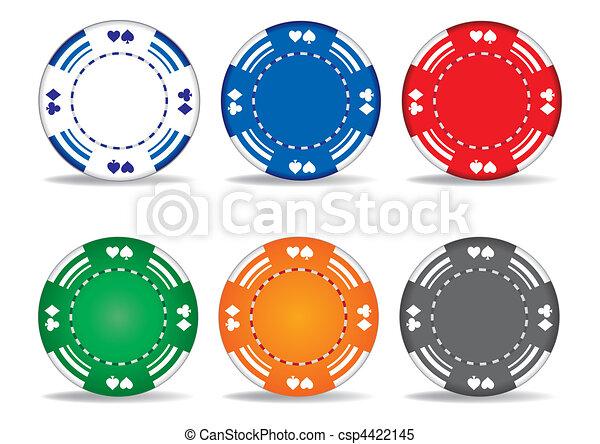 Chips de juego - csp4422145