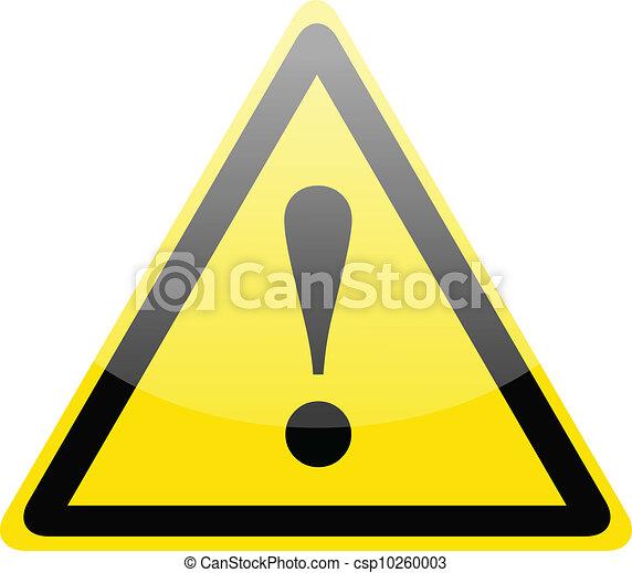 Señal de alerta de peligro - csp10260003