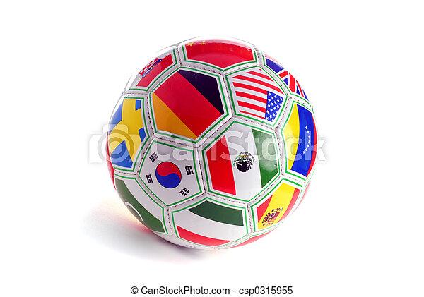 Bola de fútbol - csp0315955
