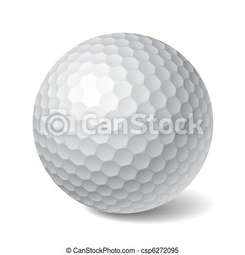 Bola de golf - csp6272095