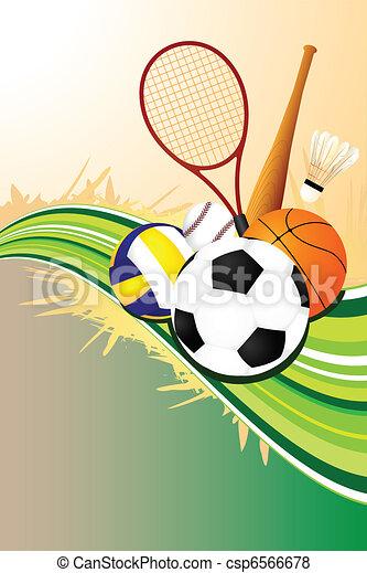 Deportes deportivos - csp6566678
