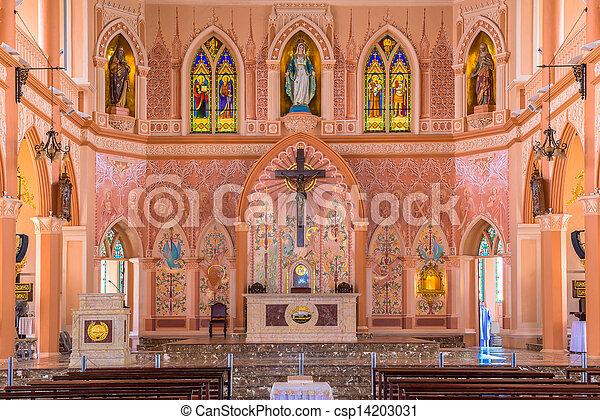 Una iglesia pequeña - csp14203031