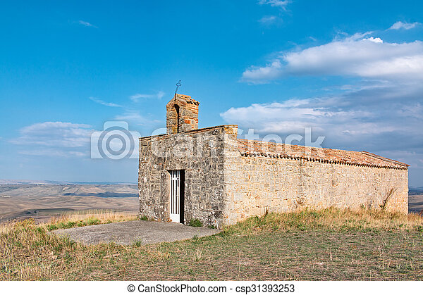 Una iglesia pequeña - csp31393253