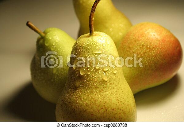 Pears frutas - csp0280738