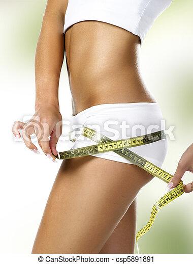 Cuerpo femenino perfecto - csp5891891