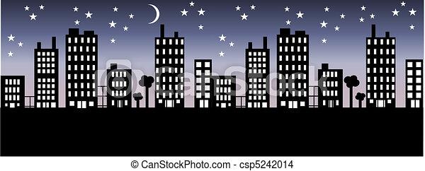 Skyline de la ciudad - csp5242014