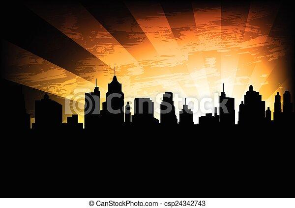 Antecedentes en la ciudad - csp24342743