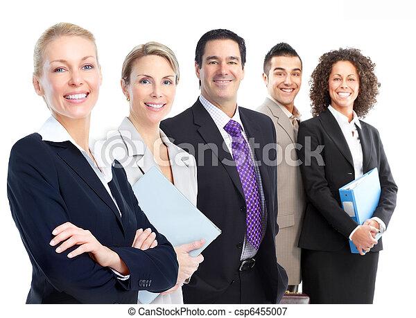 Equipo de gente de negocios - csp6455007