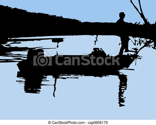 Pescador - csp0606179